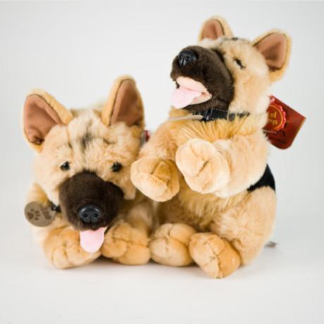 Nero the cuddly GSD toy