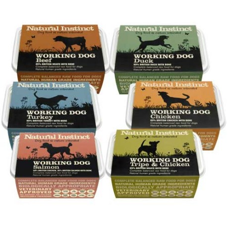 Natural Instinct Raw Diet dog food